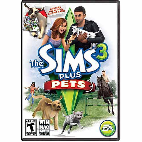 Sims 3 Plus Pets (PC/Mac) (Digital Code)