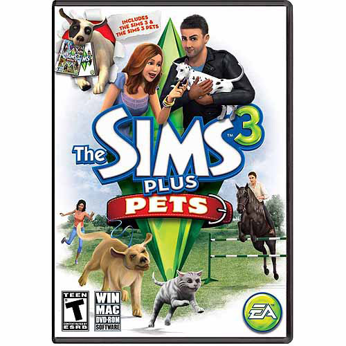 Sims 3 Plus Pets (PC/Mac) (Digital Code)