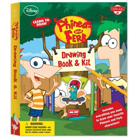 Phineas Y Ferb Halloween (Learn to Draw Phineas and Ferb Drawing Book &)