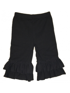 L C Boutique Girls Ruffle Capri Sizes 2T - 16