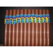 RiteCo Raydiant 80126 Riteco Raydiant Fade Resistant Art Rolls Warm Brown 36 In. X 30 Ft. 12 Pack