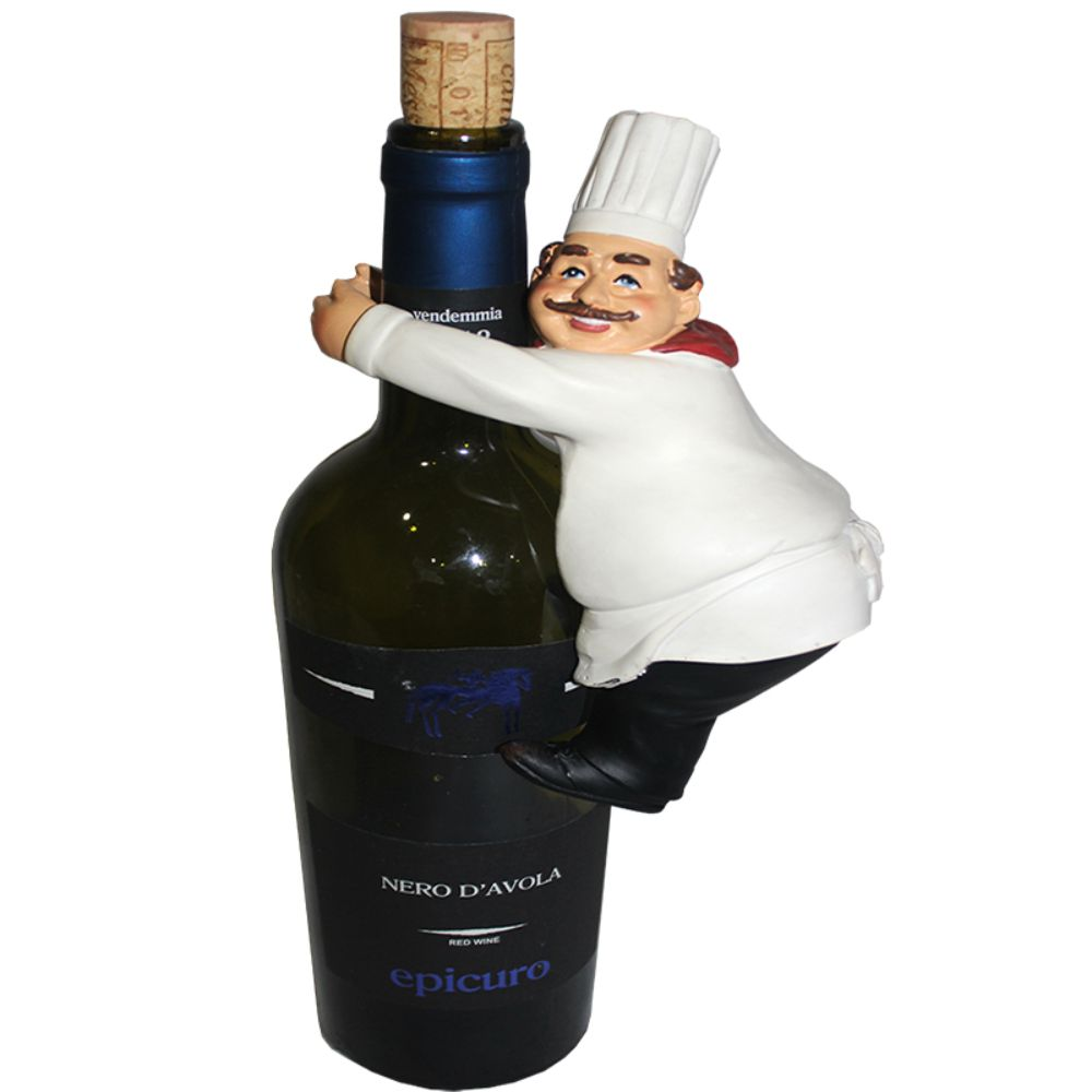 Modern Wine Holder - Chef
