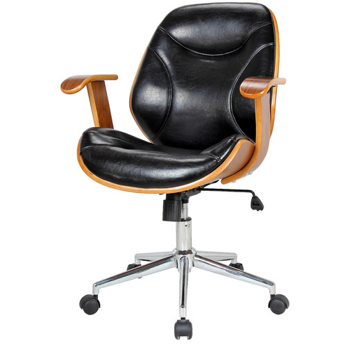 New Pacific Direct Costa Mid-Back Task Chair with Arms