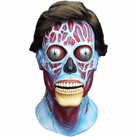 They Live Latex Mask Adult Halloween Accessory - Live Halloween Backgrounds