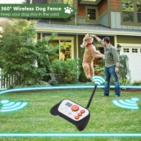 Yosoo Dog Training System, Dog Fence & Rechargeable Dog Training System 2 in 1 Kit with Training Collar, 2 in 1 Dog Training System