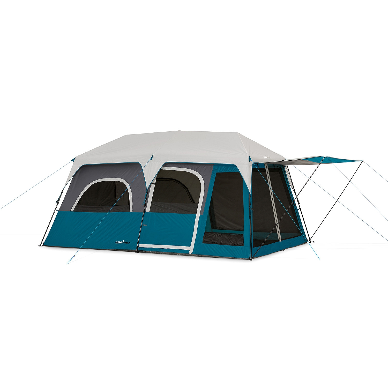 C&valley 10-Person Instant Cabin Tent  sc 1 st  Walmart : 10 person tent walmart - memphite.com