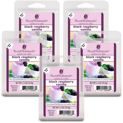 Scentsationals Wax Cubes, Black Raspberry, 5-Pack
