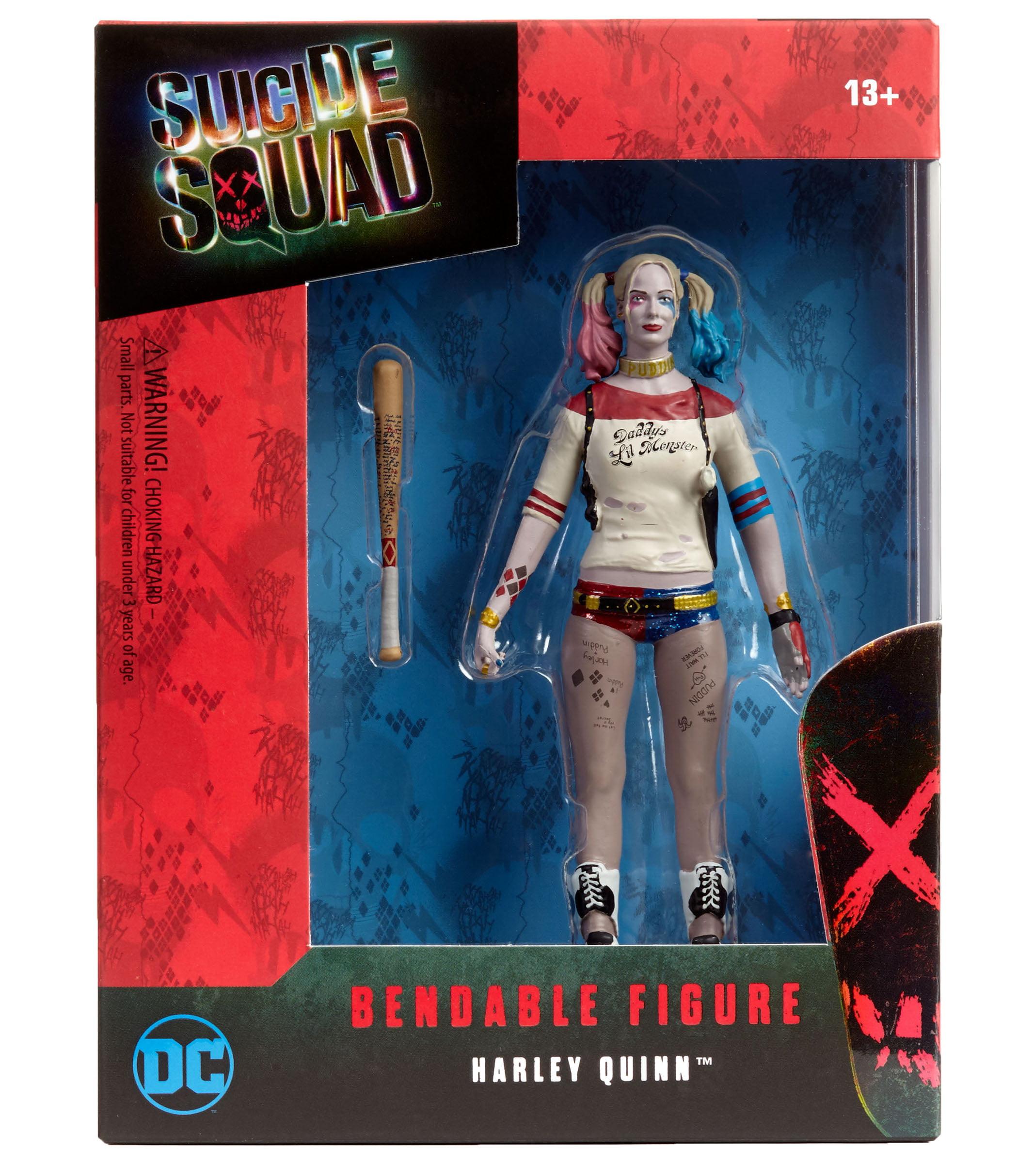 DC Comics Suicide Squad Harley Quinn Bendable Figure by NJ Croce