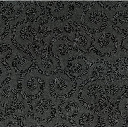 Crypton Clematis 9006 Woven Jacquard Contract Rated Fabric, Graphite