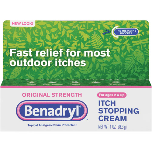 Benadryl Original Strength Itch Stopping Cream, 1 oz