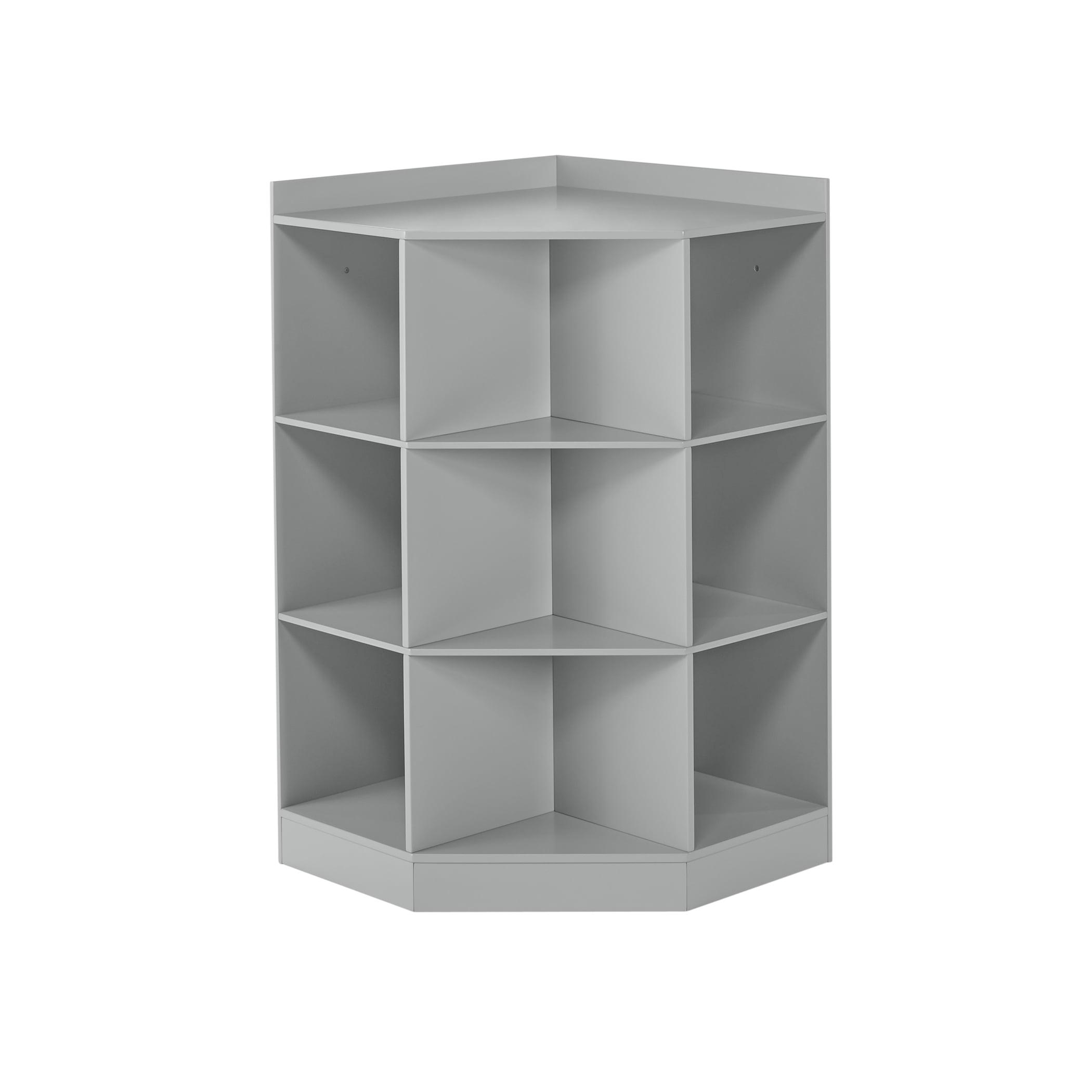RiverRidge Kids 6-Cubby, 3-Shelf Corner Cabinet by Sourcing Solutions, Inc.