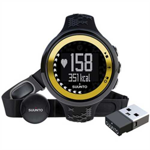 Refurbished Suunto M5 Ladies Black Gold HR Fitness Watch SS018258000 by