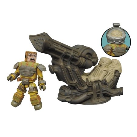 Minimates Deluxe - Aliens Series - Space Jockey - Toy Alien