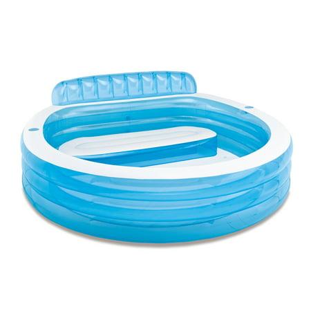 Intex Swim Center Family Inflatable Lounge Pool, 88