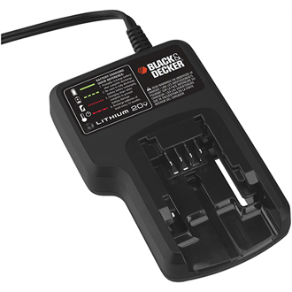 Black and Decker 20 Volt Lithium-Ion OEM Replacement Charger # 90553168