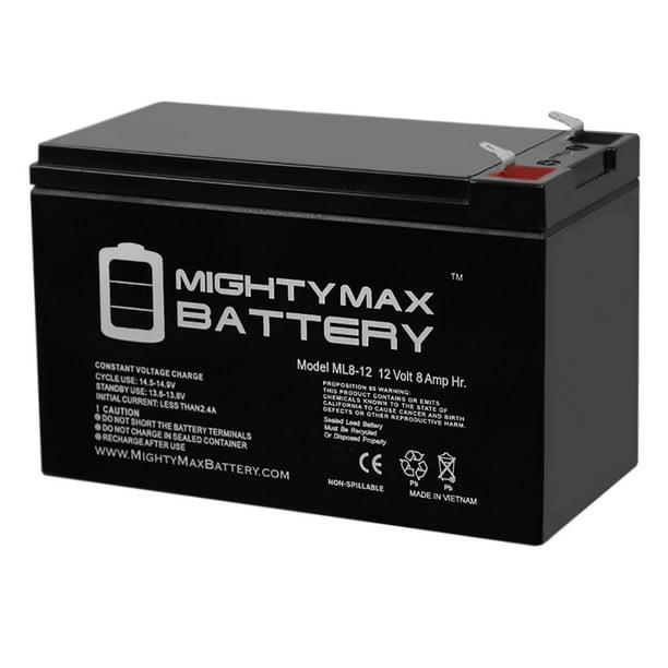 12V 8Ah SLA Replacement Battery for Power Patrol Backup Battery SLA1075