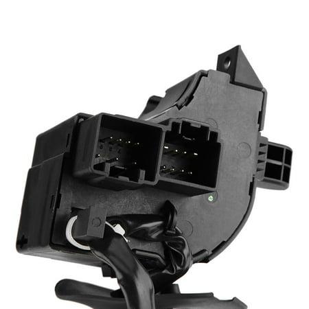 Yosoo Interrupteur à levier combiné pour variateur d'essuie-glace de clignotants pour Ford F150 2005-2008 5L3Z13K359AAA, CBS-1332, 629-00789 - image 1 de 7