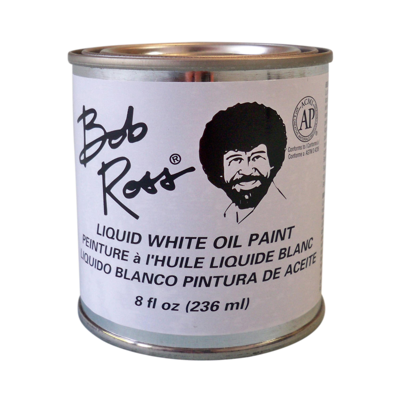 Bob Ross Oil 16 oz. Liquid White