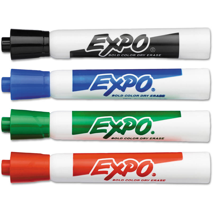 EXPO Dry Erase Marker, Assorted
