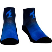 Dallas Fuel Rock Em Socks Women's Dip Dye Quarter-Length Socks - Navy/Blue - S/M