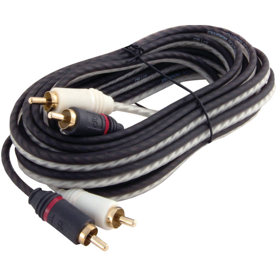 DB Link SX12 Twisted-Pair Strandworx Series RCA Cable, 12'