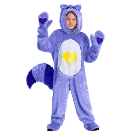 Care Bears & Cousins Toddler Bright Heart Raccoon Costume - Toddler Care Bear Costume