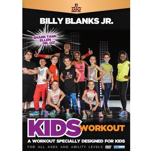 Billy Blanks Jr.: Dance It Out Kids Workout (DVD) by Bayview/widowmaker