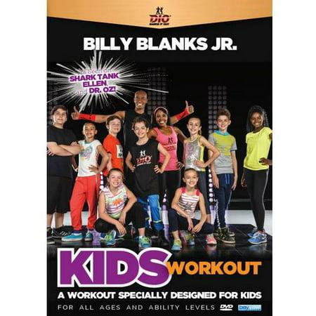 Billy Blanks Jr Kids Workout