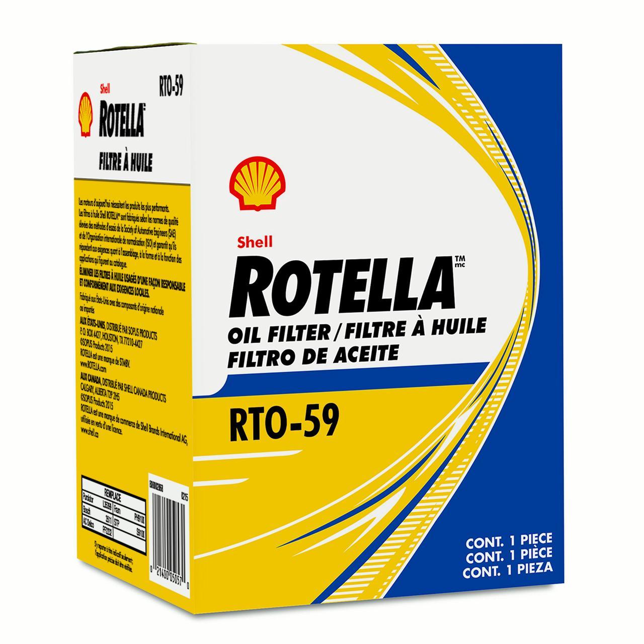 Shell Rotella Oil Filter RTO59