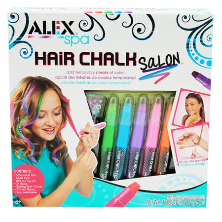 Alex Toys Spa Hair Chalk Salon Craft Kit, 1 Each - Mini Spa Kit