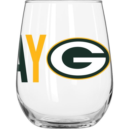 Nfl Stained Glass (NFL Green Bay Packers 16 oz. Overtime Curved Beverage)