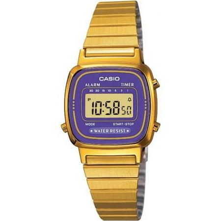 Casio Women's Core LA670WGA-6 Gold Stainless-Steel Quartz Sport Watch (Halloween 6 Watch Online)