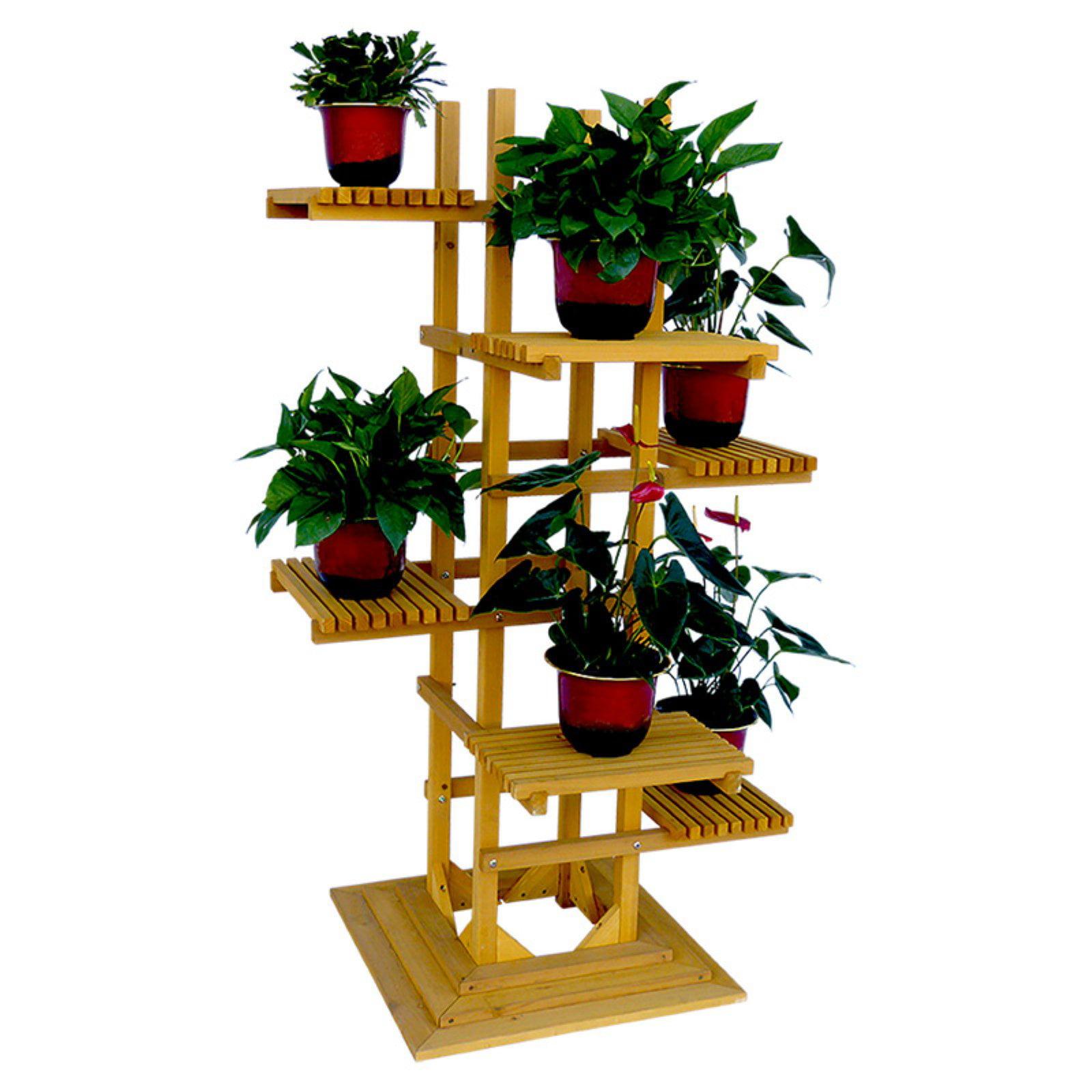 Leisure Season 6 Tier Pedestal Plant Stand