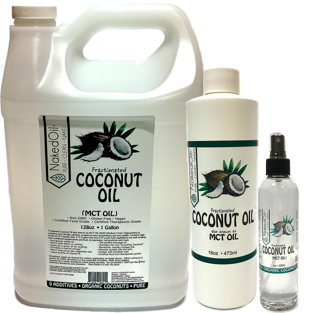 MCT Oil_Fractionated Coconut Oil from Organic Coconuts
