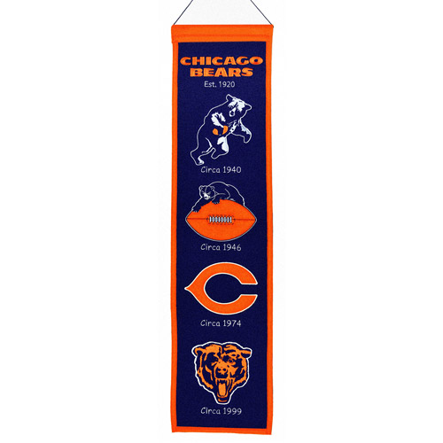 Chicago Bears Heritage Banner