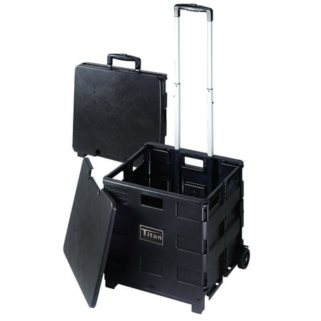 Craig Titan Versatile Folding Storage Cart with Wheels