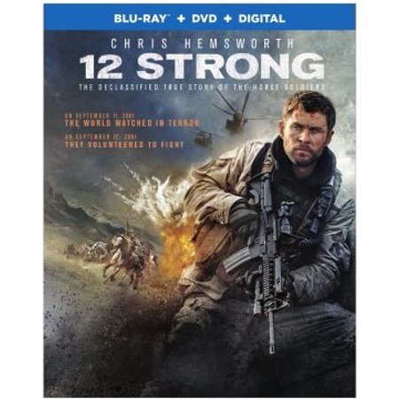 Movie 4t (12 Strong (Blu-ray + DVD +)