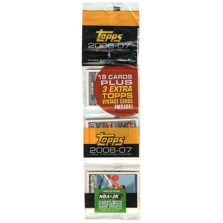 Rack Card Dimensions (NBA 2006-07 Trading Card Rack Packs)