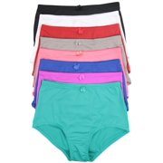 ToBeInStyle Women's Pack of 6 High-Rise Girdle Panties