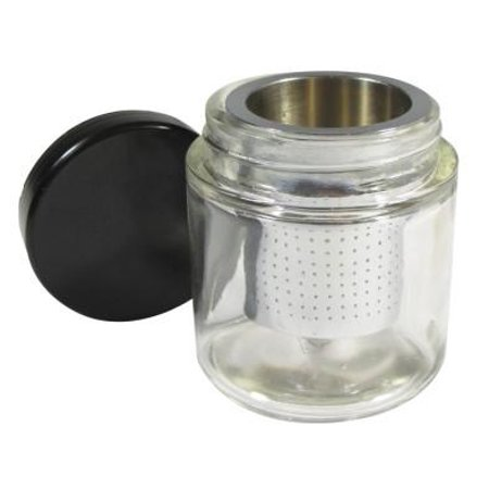 Cleansing Part - Gold Gem Stone Jewelry Small Parts Cleaning Cleaner Sift Bottle Prospecting Jar