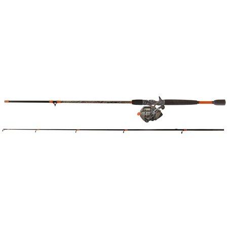 Sea Fishing Reel, Zebco 33 Max 6.6-ft Spincast Pole Metal Pond Fish Reel Combo ()