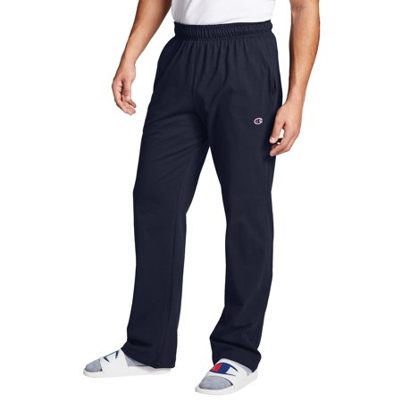 Champion Men's Open Bottom Jersey Sweatpants, up to Size 4XL