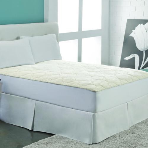 Rest Remedy Cotton Fleece Mattress Pad King