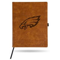 Philadelphia Eagles Sparo Laser Engraved Large Notepad - Brown