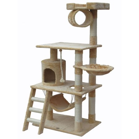 Ipet 56 Cat Tree Condo Furniture Scratching Post Pet House