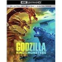Godzilla: King of the Monsters (4K Ultra HD + Blu-ray + Digital Copy)