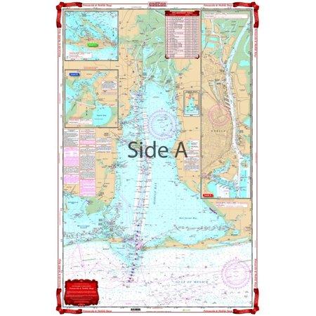 Waterproof Charts 94 Pensacola Bay (Large Print Waterproof Charts)