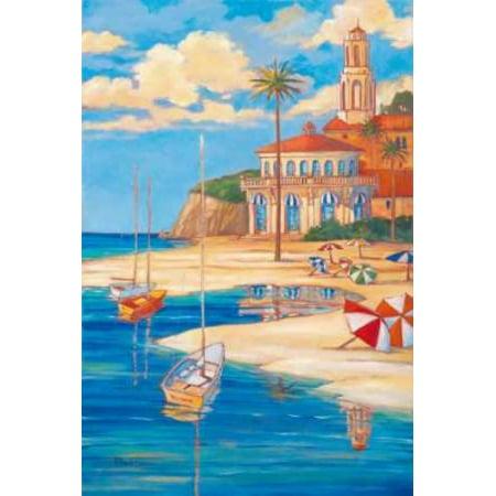Posterazzi Beach Club II Canvas Art - Paul Brent (24 x 36)