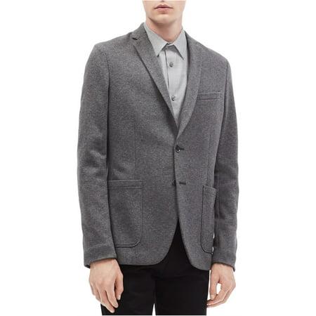 Calvin Klein Mens Slim Fit Two Button Blazer Jacket