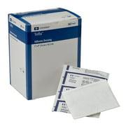 "Covidien 7643 Telfa Adhesive Dressing, Sterile 1's in Peel-Back Package, 3"" x 4"" (Pack of 100)"